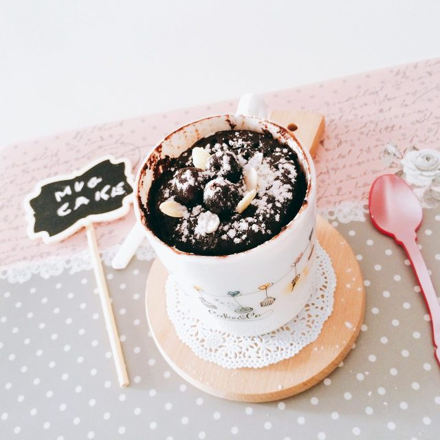 Mug cake foresta nera_single cake