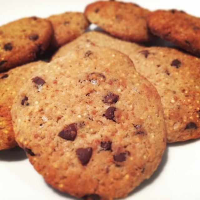 Cookies alla quinoa