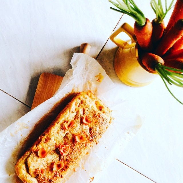 Plumcake patate e carote