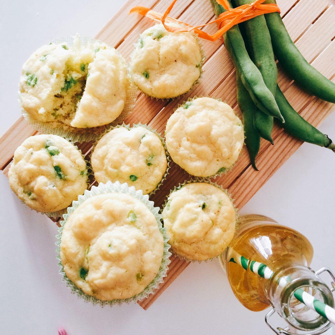 Muffin di fave e pecorino