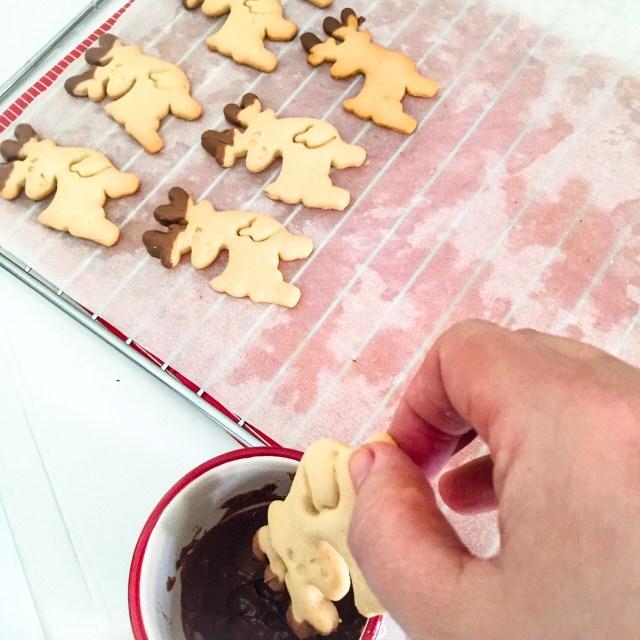 Biscotti Rudolph senza burro da decorare