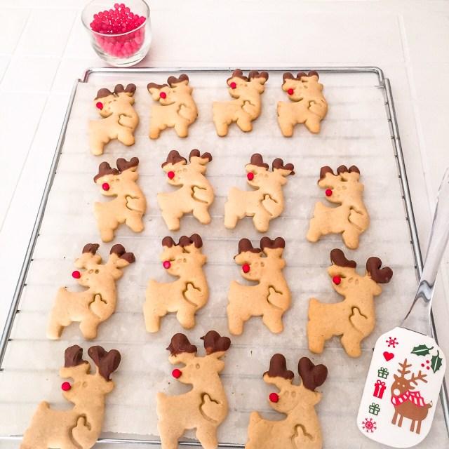 Biscotti Rudolph senza burro