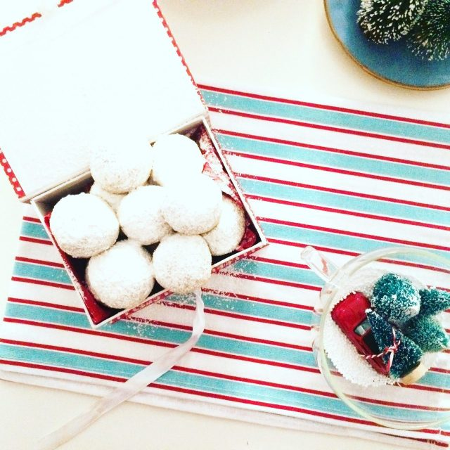 Snowball cookies da regalare