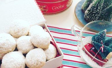 Snowball cookies in confezioni regalo