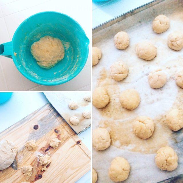 Panini con impasto di patate_lievitazione
