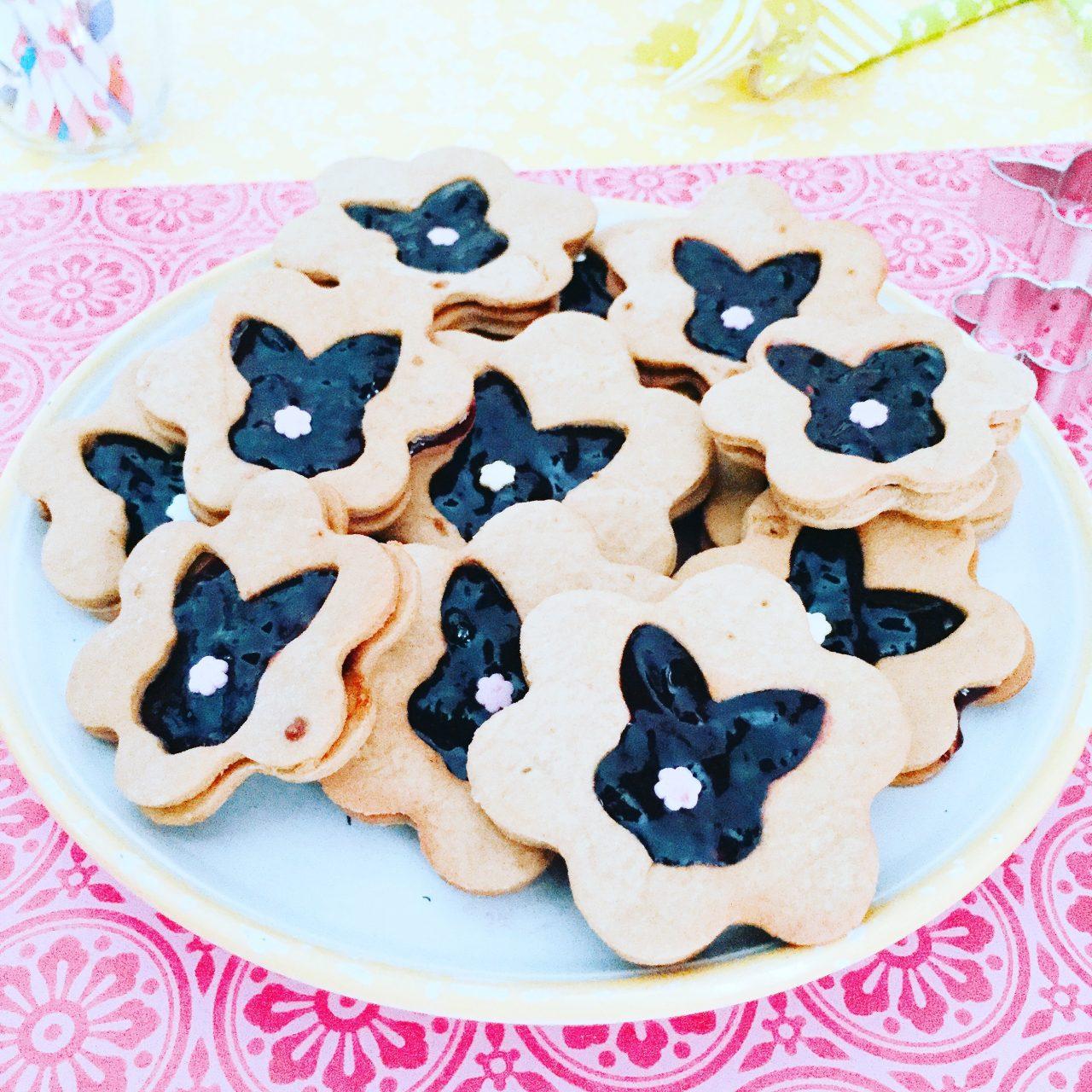 Biscotti frolla all'olio coniglietti