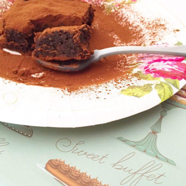 Torta Barozzi morso in primo piano