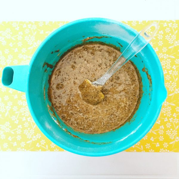 Torta morbida al grano saraceno e marmellata_impasto