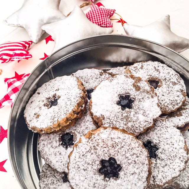 LINZER COOKIES ALL'OLIO in scatola