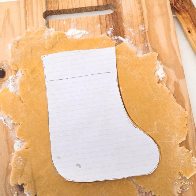 Calza della befana_calza di carta