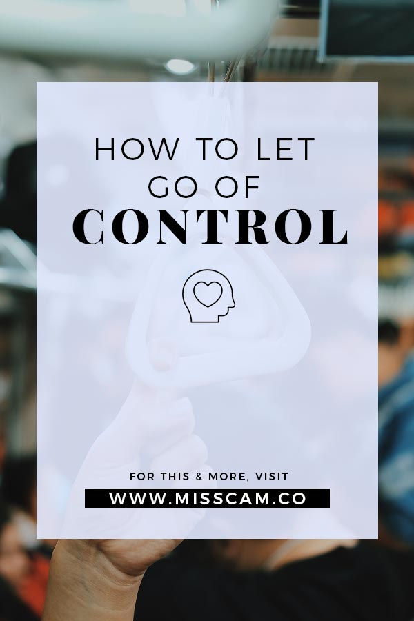 how to let go of control pinterest pin