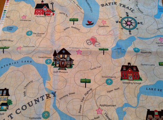 A Quilter's Map