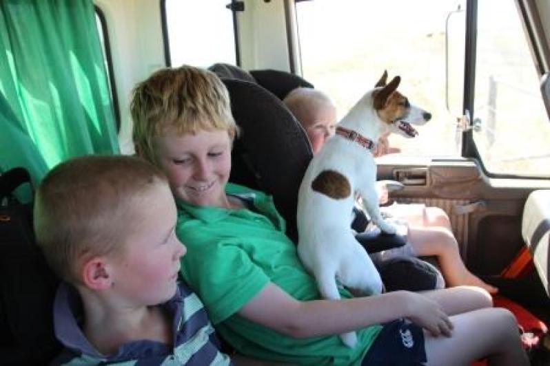 kids in truck 1