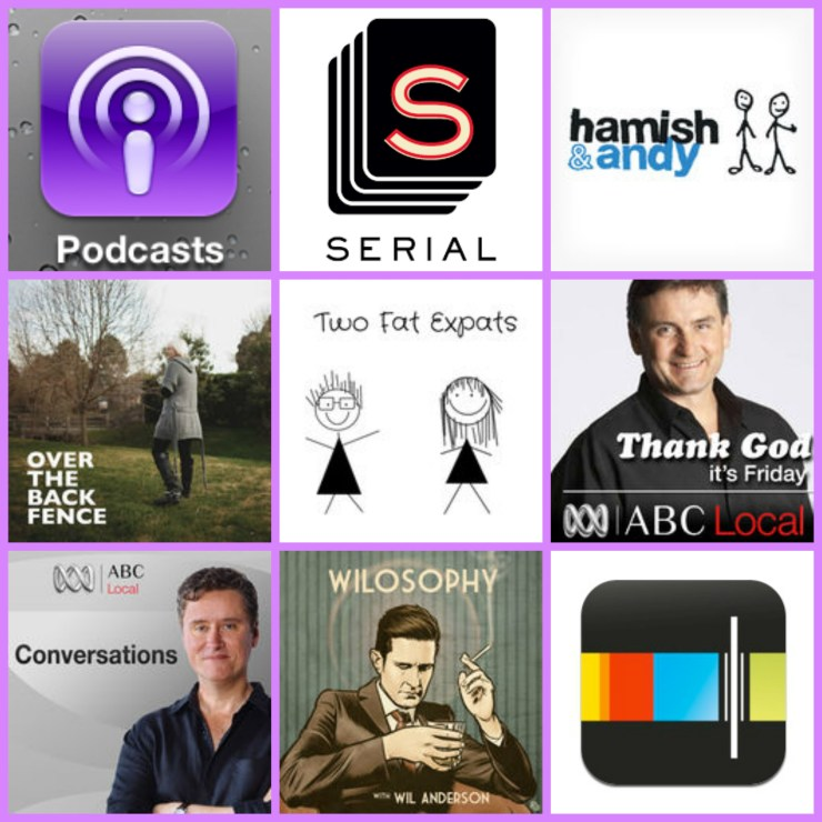 podcast collage