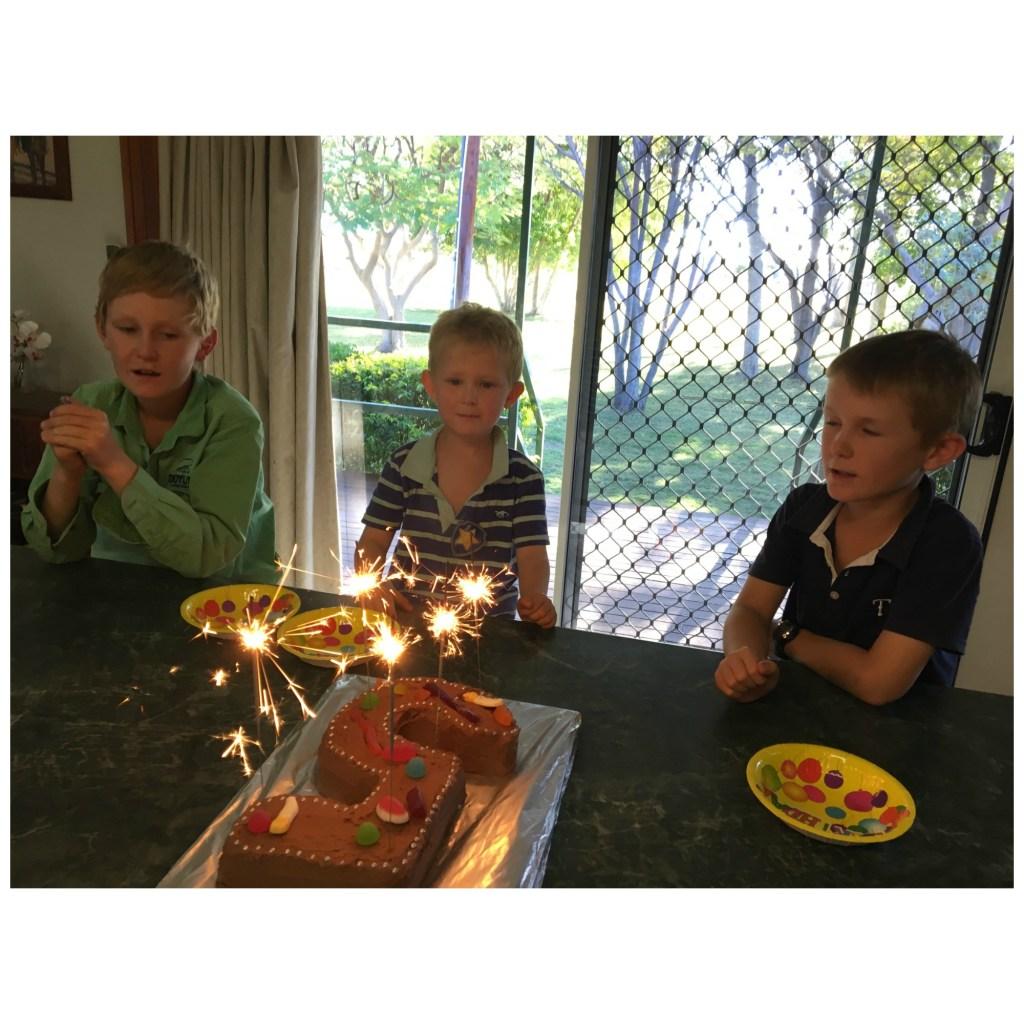 Clancy's 5th Birthday