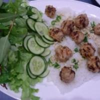 Vietnamese meatballs (nem nuong) recipe