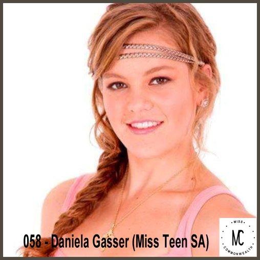 Miss Teen Commonwealth International 2014-15 Runner Up (SOUTH AFRICA)