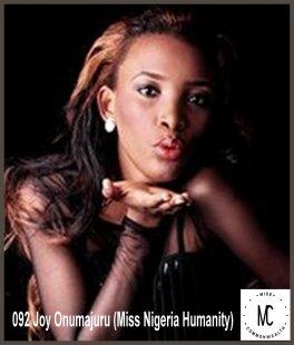 Miss Commonwealth Africa 2014-15 (NIGERIA)