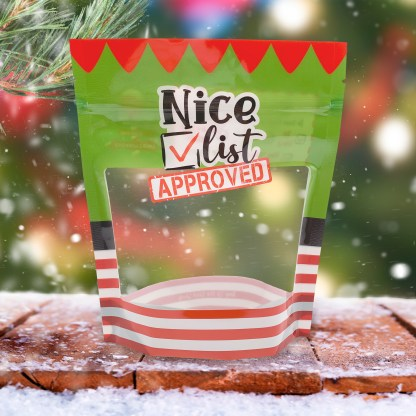Photo of the Nice List Cookie Pouch