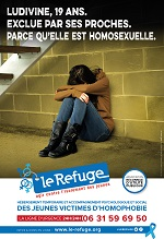 Affiche Le Refuge Ludivine