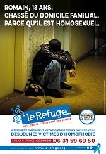 Affiche Le Refuge Romain