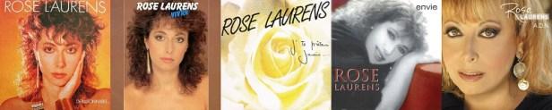 Rose Laurens discographie albums