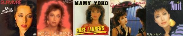 Rose Laurens discographie singles