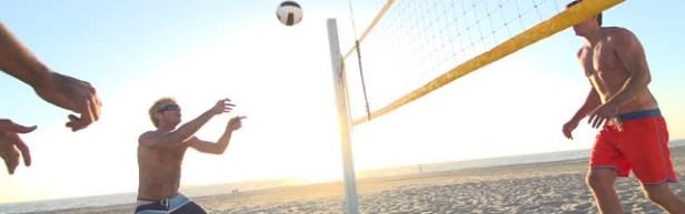 Sport de plage volley