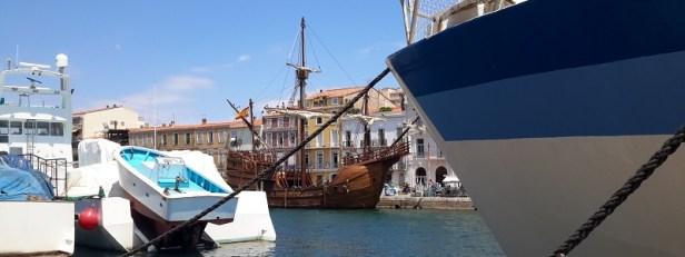 Navire Christophe Colomb à Sète