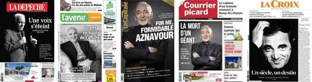 Réactions au décès de Charles Aznavour