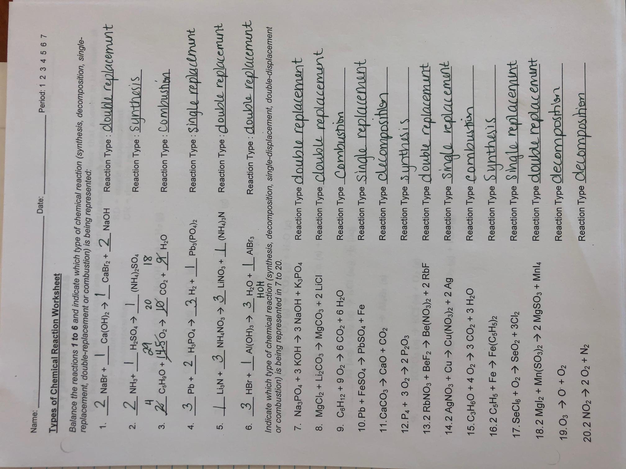 3rd Quarter Schedule