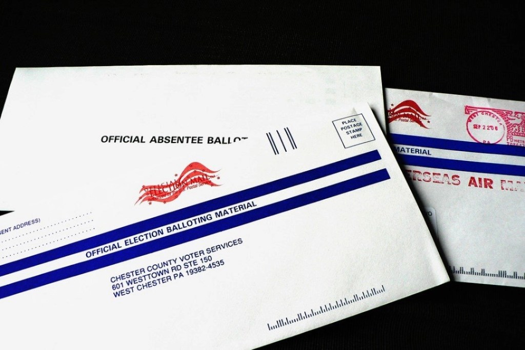 Pennsylvania Absentee Ballot Official Envelope