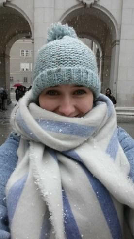 Snow in Salzburg
