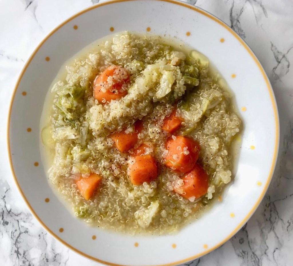 [DIY COCINA] Sopa de verduras y quinoa