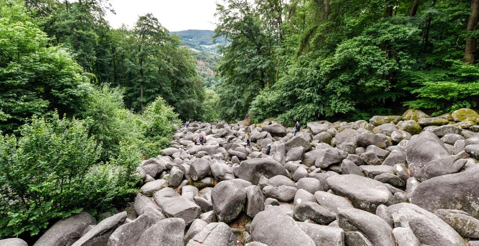 Das Felsenmeer im Odenwald bei Lautertal