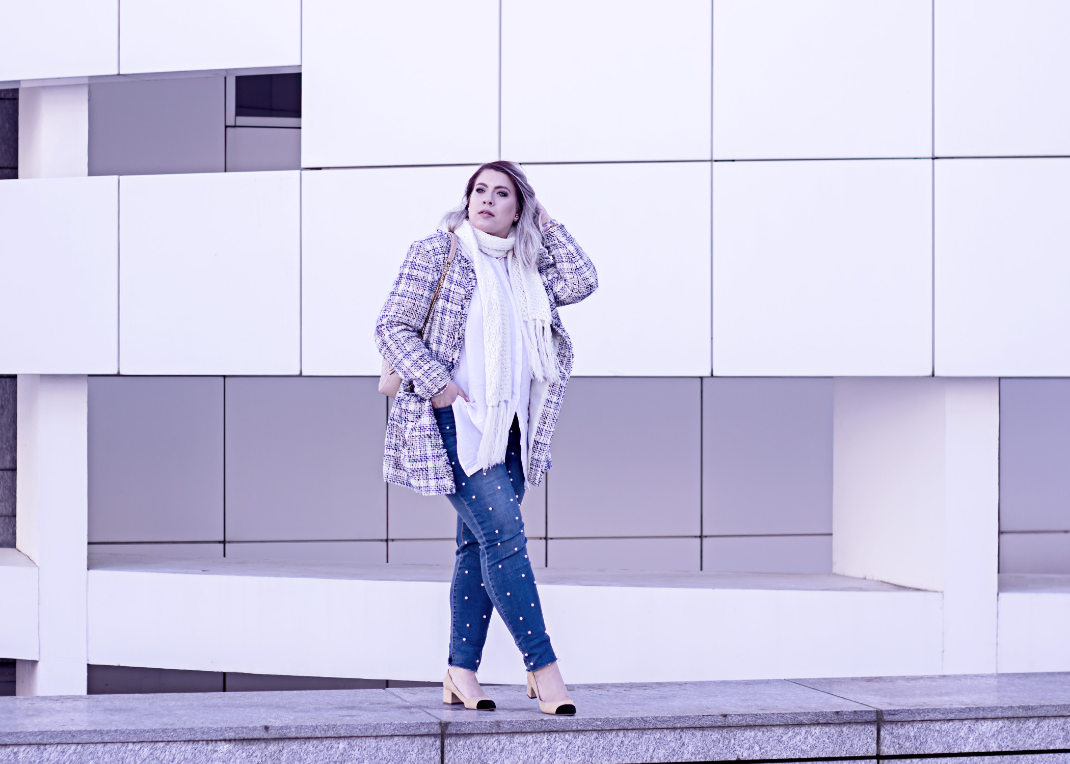 bfb494164df5 How to style a Pearl Jeans in Winter | Feeling like a Snow Princess ...