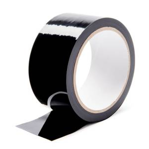 LoveHoney black bondage tape.