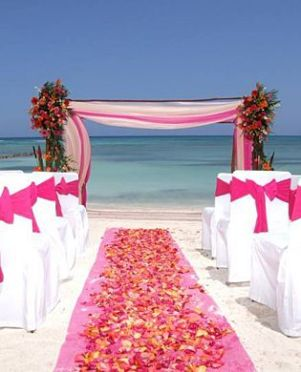 Tropical Beach Wedding ... dreamy!