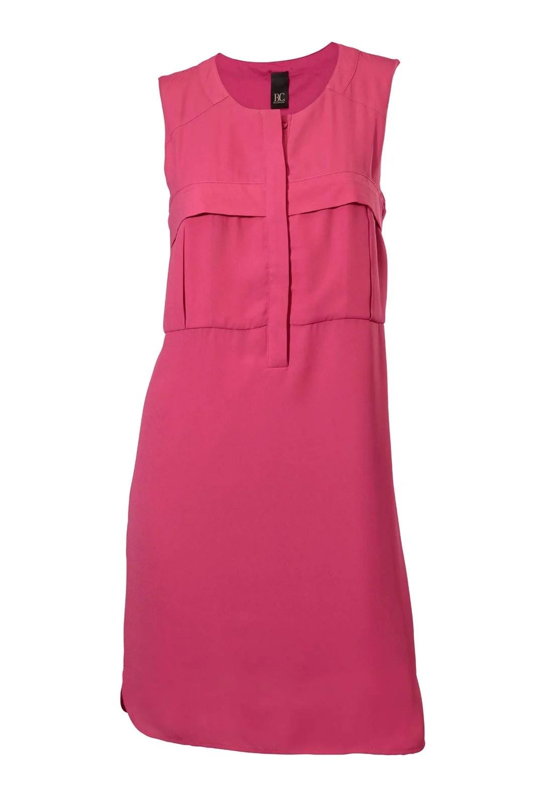 118.080 HEINE Damen Designer-Etuikleid Pink