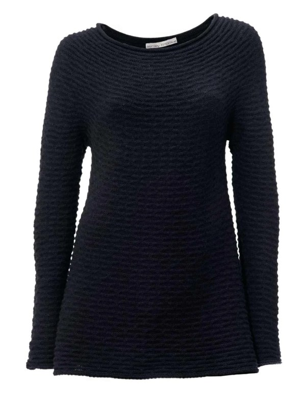 179.710 ASHLEY BROOKE Damen Designer-Pullover Marine