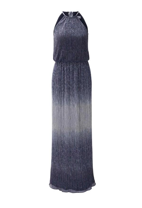 252.099a HEINE Damen Designer-Abendkleid Blau