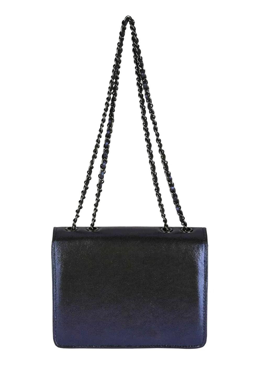 256.824 Collezione Alessandro Tasche mit Strasssteinen, nachtblau