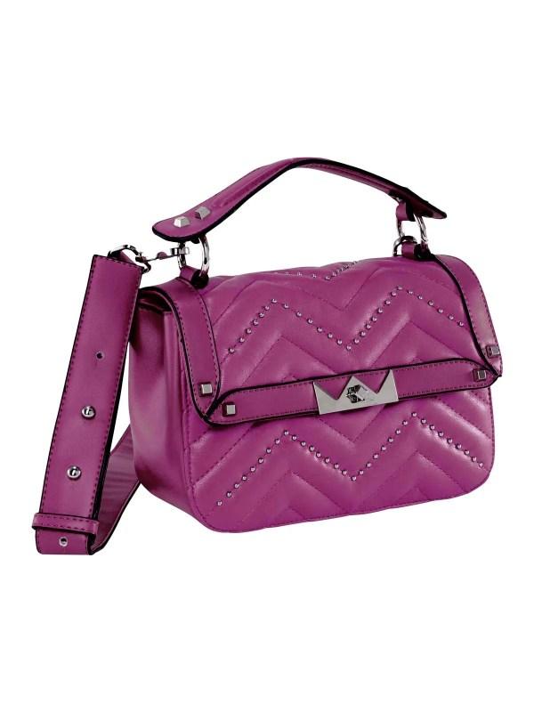 469.201 HEINE Damen Designer-Tasche m. Nieten Pink