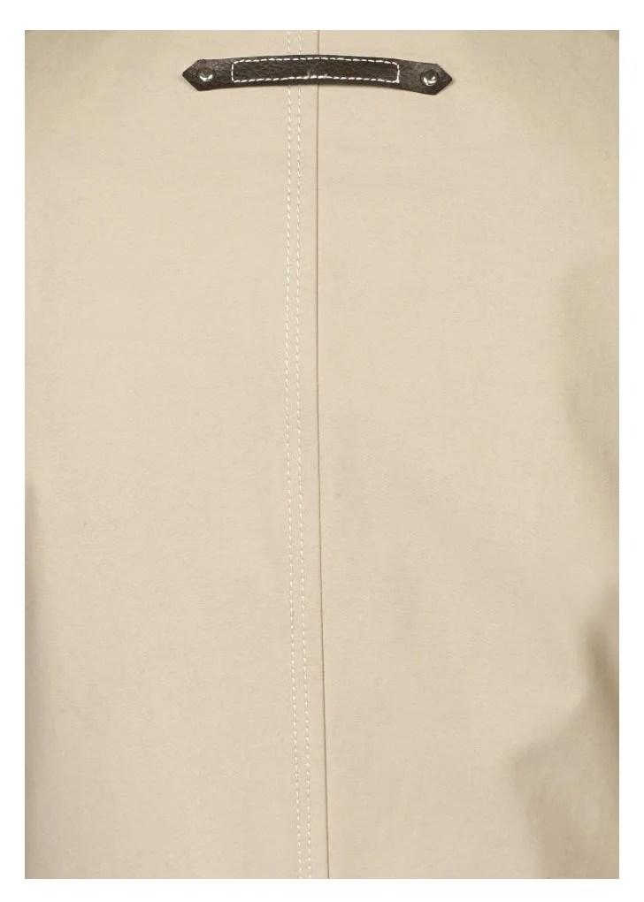 500.732 TAMARIS Damen-Trenchcoat Popeline Qualität Kitt Mantel Trenchmantel Gefüttert