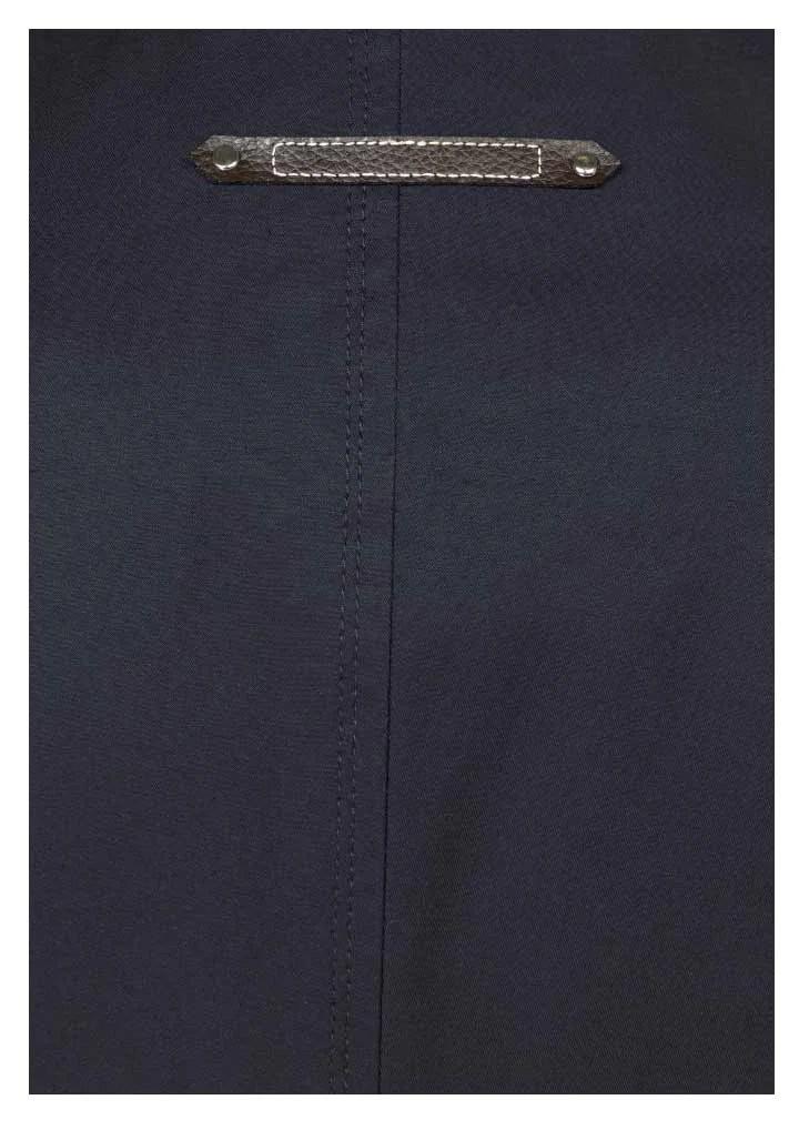 655.217 TAMARIS Damen-Trenchcoat mit Stehkragen Marine