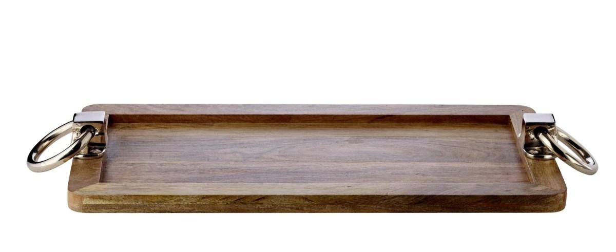 7704 Edzard Mangoholztablett Hirsch 60x20 cm