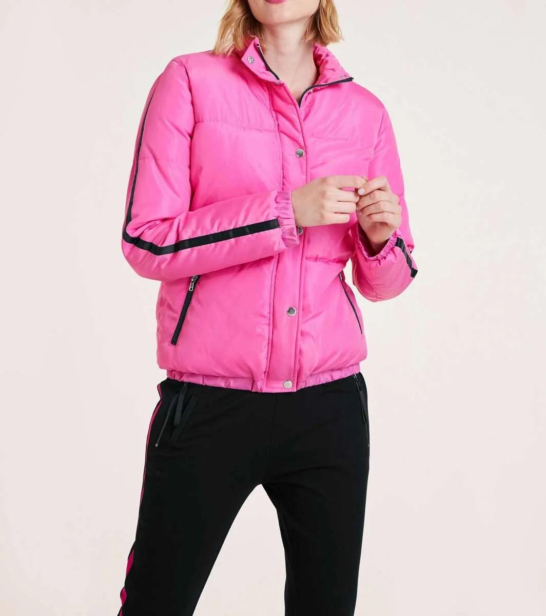 987.049 HEINE Damen Designer-Outdoor-Steppjacke Pink