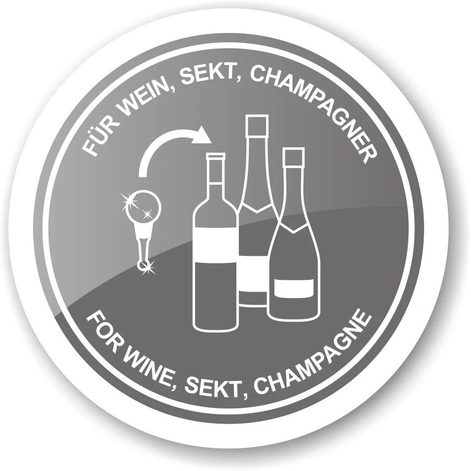 8492 Flaschenverschluss Eber für Champagner, Wein und Sekt, Höhe 10 cm, Muranoglas-Art, Handarbeit