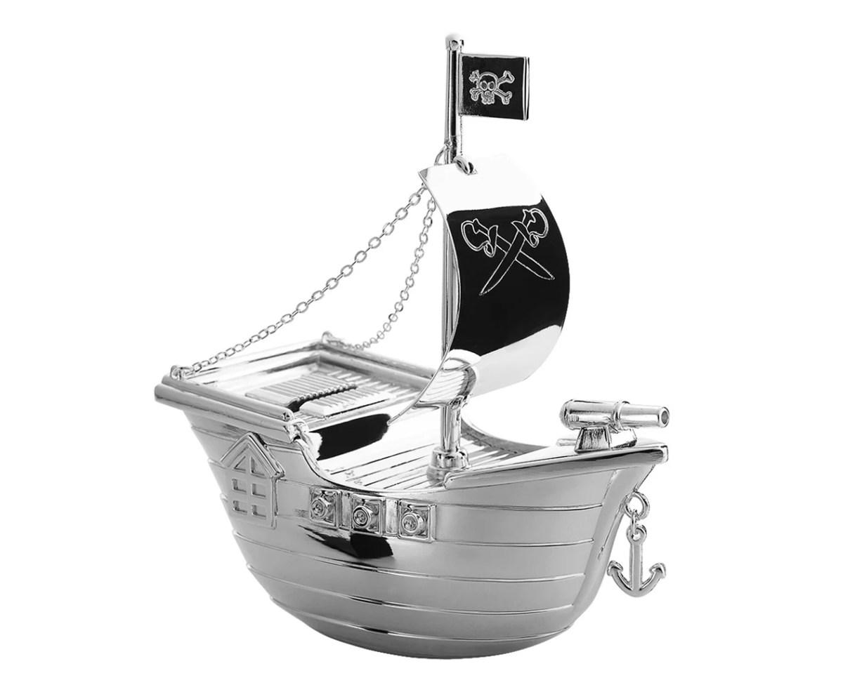 3369 Spardose Sparbüchse Piratenschiff, Höhe 15 cm