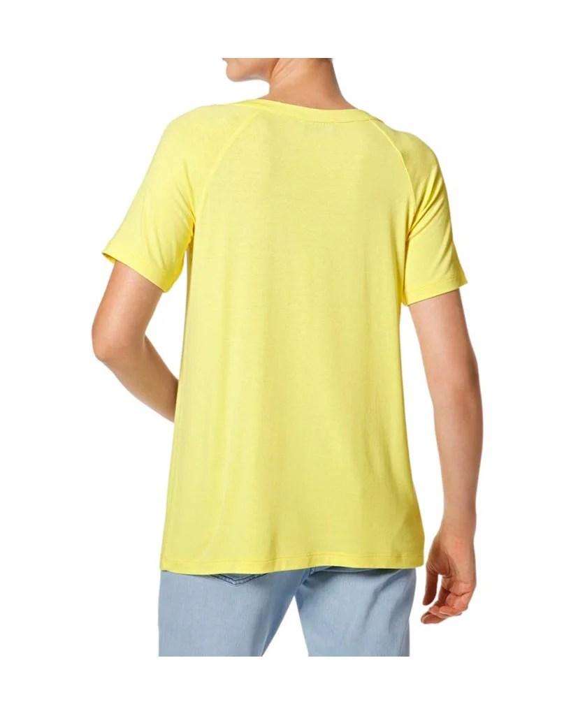 088.312 HEINE Damen Designer-Shirt m. Perlen Gelb